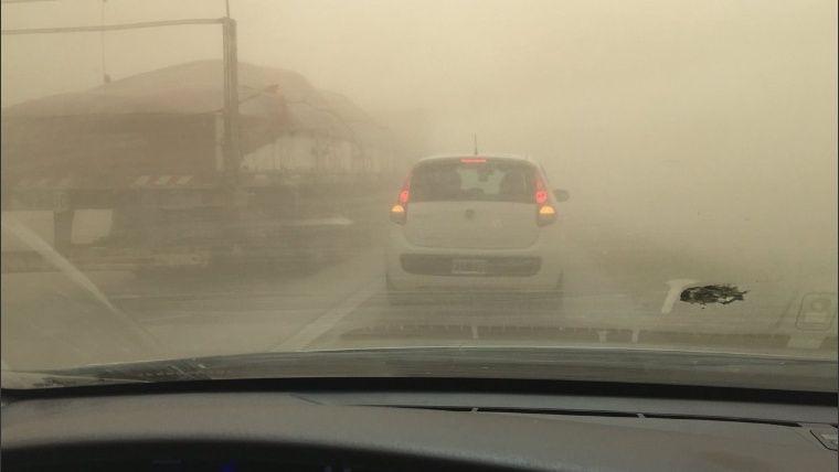 """La """"tempestad de polvo"""" que bajará la temperatura"""